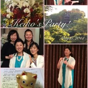 大島佳子さん会社設立パーティファッションスタイリング