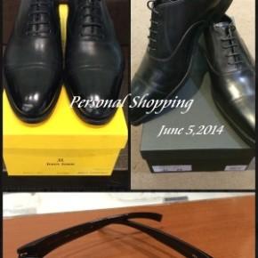 ビジネススタイルの仕上げは、靴とメガネを疎かにしないこと。