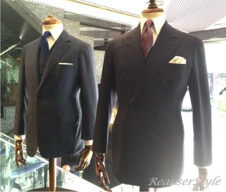 大人のスーツはオシャレでなく、ビジネスの勝負服