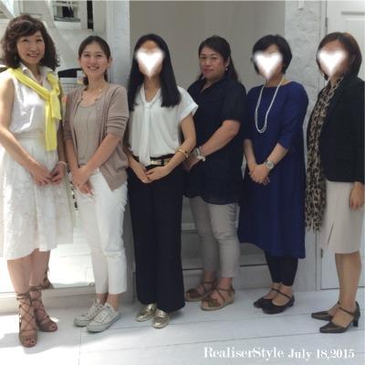 【ご感想】7月18日パーソナルファッション講座