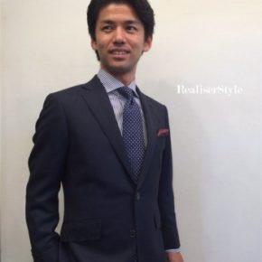 ビジネスと着る人をデザインする~スーツスタイリストの仕事。