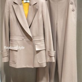 2016秋冬40代女性のビジネススーツスタイリング