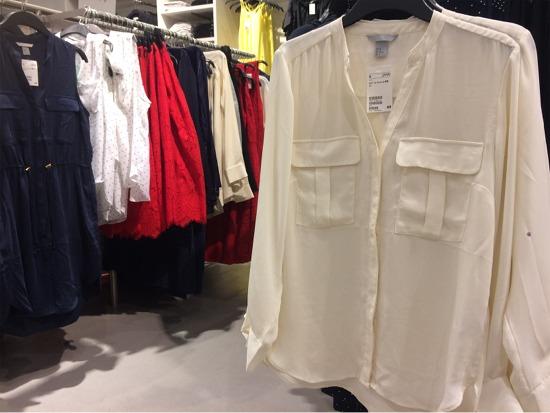 シワシワの洋服は価値が下がる。