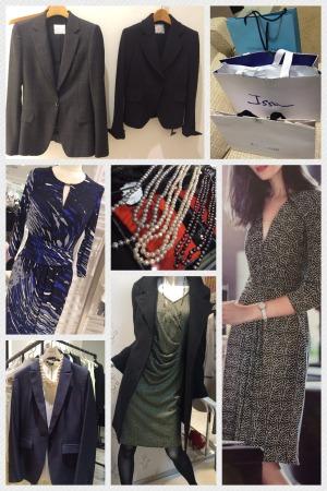 ビジネスキャリアのスーツ&ワンピースショッピング同行
