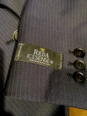 春夏スーツ素材「REDA ICESENSE」