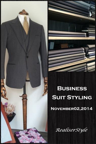 ビジネスの教養として伝えたいスーツの知識。