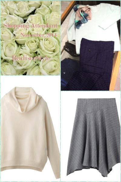 女性らしいニットスタイリング&すっきり見えるミモレ丈スカートの選び方