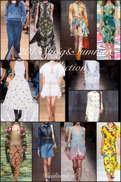 萩原輝美さんのファッショントーク2015春夏SS