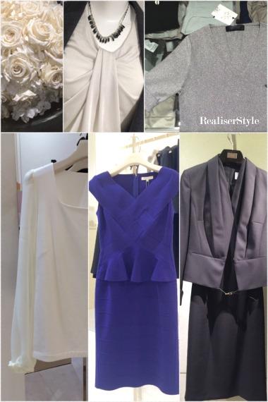 40代女性のビジネスファッションとビジネスパーティスタイリング