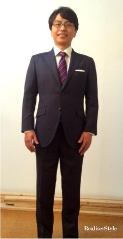写真撮影スタイリング:ビジネススーツ&カジュアルスーツ
