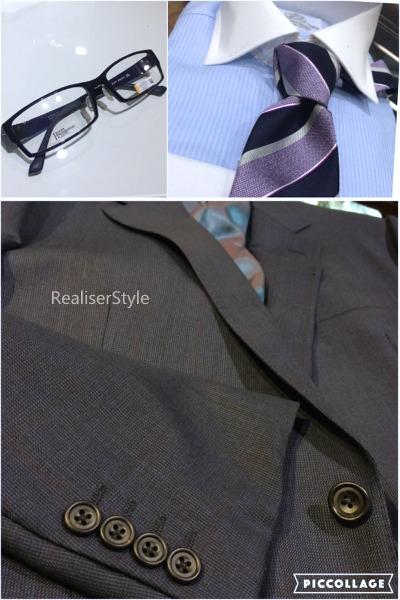 30代男性ビジネススーツスタイリング