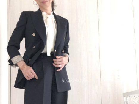 働く女性のネイビージャケットコーデ 9パターン