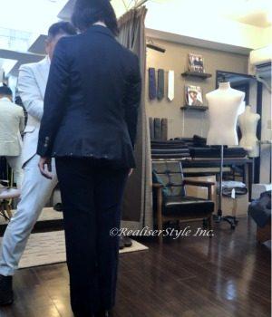 【50代女性オーダースーツ&ショッピングのご感想】